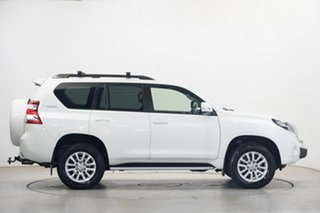 2014 Toyota Landcruiser Prado KDJ150R MY14 VX White 5 Speed Sports Automatic Wagon