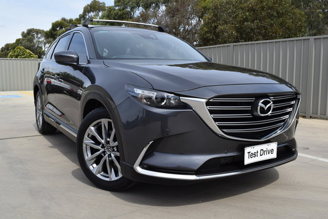 Used Mazda CX-9 TC GT SKYACTIV-Drive i-ACTIV AWD Echuca, 2017 Mazda CX-9 TC GT SKYACTIV-Drive i-ACTIV AWD Graphite 6 Speed Sports Automatic Wagon