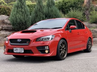 2014 Subaru WRX V1 MY15 STI AWD Red 6 Speed Manual Sedan