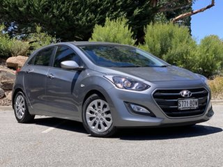 2016 Hyundai i30 GD4 Series II MY17 Active Grey 6 Speed Sports Automatic Hatchback.