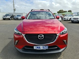 2018 Mazda CX-3 DK2W7A Maxx SKYACTIV-Drive Red 6 Speed Sports Automatic Wagon.