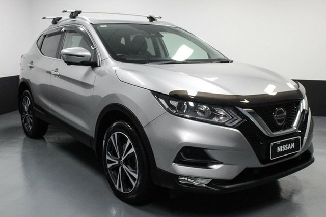 Used Nissan Qashqai J11 Series 2 ST-L X-tronic Hamilton, 2018 Nissan Qashqai J11 Series 2 ST-L X-tronic Silver 1 Speed Constant Variable Wagon