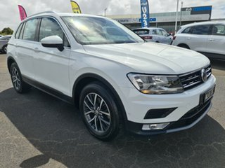 2016 Volkswagen Tiguan 5N MY16 118TSI DSG 2WD White 6 Speed Sports Automatic Dual Clutch Wagon.