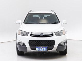 2013 Holden Captiva CG MY13 7 LX (4x4) White 6 Speed Automatic Wagon.