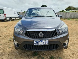 2013 Ssangyong Actyon Sports Q150 MY12 SX 4x2 Grey 6 Speed Sports Automatic Utility.