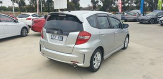 2013 Honda Jazz GE MY13 VTi Silver 5 Speed Automatic Hatchback.