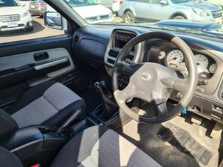 2009 Nissan Navara D22 MY2008 ST-R Black 5 Speed Manual Utility