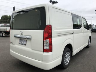 2019 Toyota HiAce GDH300R Crewvan LWB White 6 Speed Sports Automatic Van Wagon.