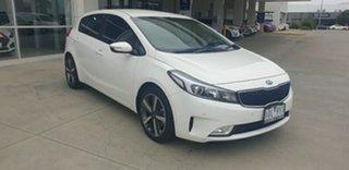 2018 Kia Cerato YD MY18 Sport Clear White 6 Speed Sports Automatic Sedan.