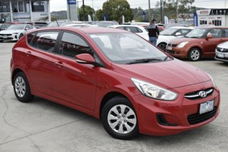2016 Hyundai Accent RB4 MY16 Active Red 6 Speed Constant Variable Hatchback.