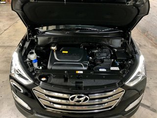 2013 Hyundai Santa Fe DM MY13 Highlander Black 6 Speed Sports Automatic Wagon