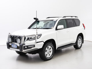 2018 Toyota Landcruiser Prado GDJ150R MY18 GXL (4x4) White 6 Speed Automatic Wagon.