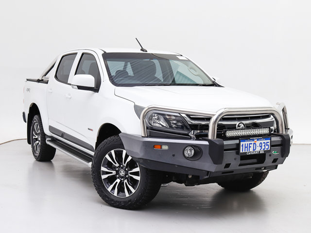 Used Holden Colorado RG MY17 LS (4x4), 2016 Holden Colorado RG MY17 LS (4x4) White 6 Speed Manual Crew Cab Pickup