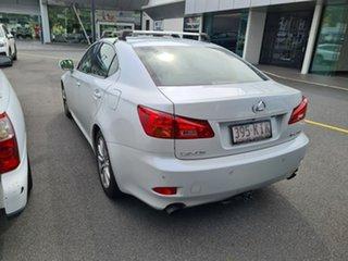 2007 Lexus IS GSE20R IS250 Sports Luxury White 6 Speed Sports Automatic Sedan