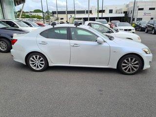 2007 Lexus IS GSE20R IS250 Sports Luxury White 6 Speed Sports Automatic Sedan.