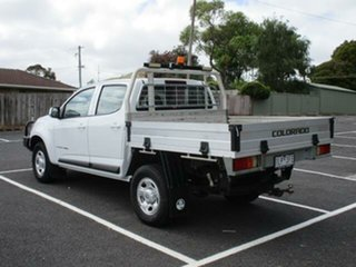 2017 Holden Colorado RG LS White Automatic CREWCAB CHASSIS.