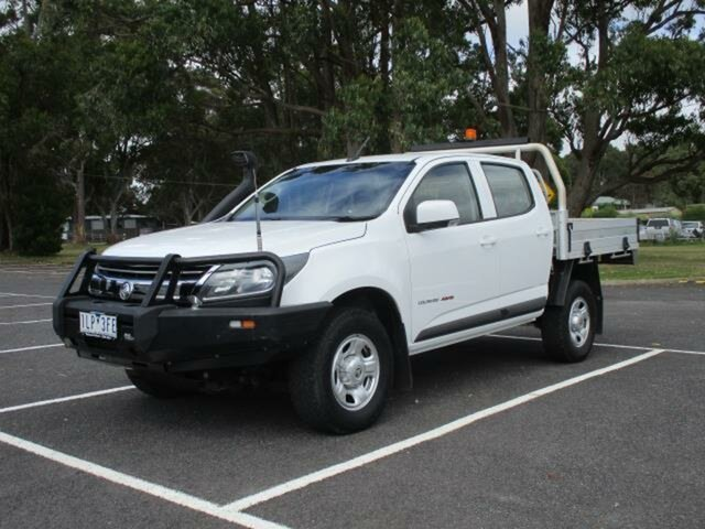 Used Holden Colorado RG LS Timboon, 2017 Holden Colorado RG LS White Automatic CREWCAB CHASSIS