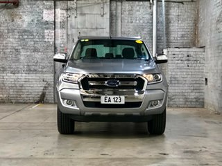 2015 Ford Ranger PX MkII XLT Double Cab Silver 6 Speed Sports Automatic Utility.