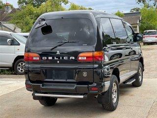 2004 Mitsubishi Delica PD6W Spacegear Black Automatic Van Wagon.