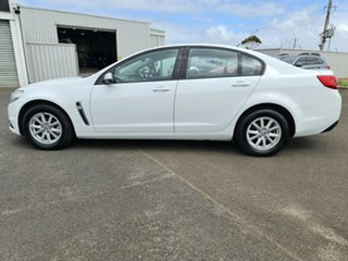 2014 Holden Commodore VF MY14 Evoke White 6 Speed Sports Automatic Sedan