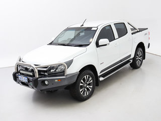 2016 Holden Colorado RG MY17 LS (4x4) White 6 Speed Manual Crew Cab Pickup