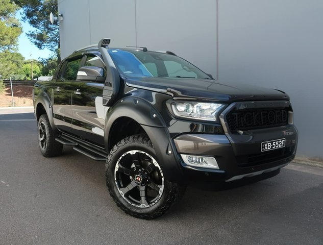 Used Ford Ranger PX MkII 2018.00MY Wildtrak Double Cab Reynella, 2018 Ford Ranger PX MkII 2018.00MY Wildtrak Double Cab Black 6 Speed Sports Automatic Utility
