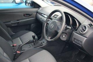 2008 Mazda 3 BK10F2 MY08 Neo Sport Blue 5 Speed Manual Sedan