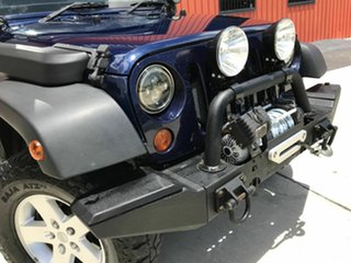 2013 Jeep Wrangler JK MY2013 Unlimited Sport Blue 6 Speed Manual Softtop