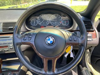 2003 BMW 3 Series E46 MY2004 330Ci Steptronic Silver 5 Speed Sports Automatic Convertible