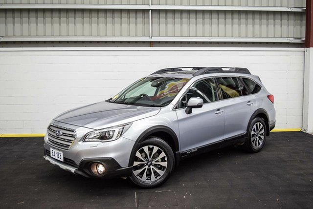 Used Subaru Outback B6A MY16 2.5i CVT AWD Premium Canning Vale, 2016 Subaru Outback B6A MY16 2.5i CVT AWD Premium Silver 6 Speed Constant Variable Wagon