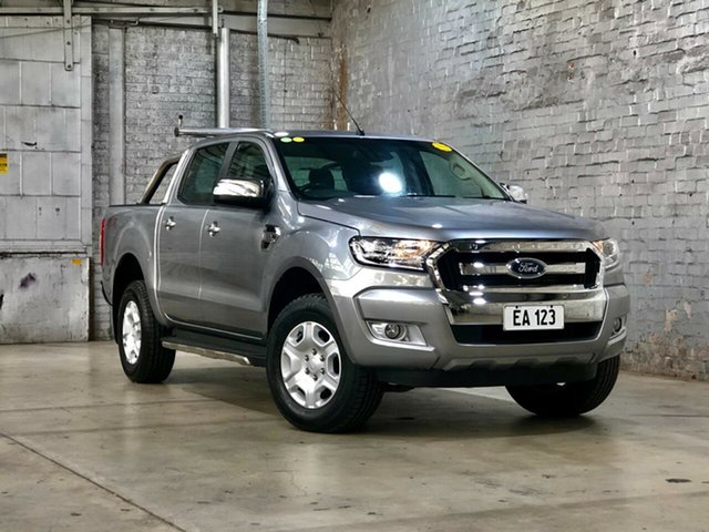 Used Ford Ranger PX MkII XLT Double Cab Mile End South, 2015 Ford Ranger PX MkII XLT Double Cab Silver 6 Speed Sports Automatic Utility