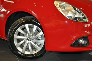 2016 Alfa Romeo Giulietta Series 1 Distinctive TCT Red 6 Speed Sports Automatic Dual Clutch