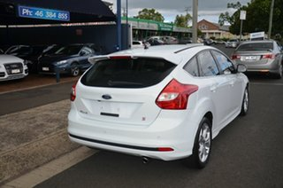2014 Ford Focus LW MK2 MY14 Sport White 6 Speed Automatic Hatchback.