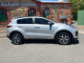 2017 Kia Sportage QL MY17 GT-Line AWD Silver 6 Speed Sports Automatic Wagon.