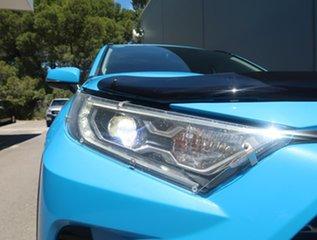 2020 Toyota RAV4 Axah52R Cruiser 2WD Blue 6 Speed Constant Variable Wagon Hybrid.