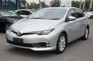 2016 Toyota Corolla ZRE182R Ascent S-CVT Silver 7 Speed Constant Variable Hatchback