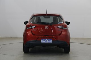 2015 Mazda 2 DJ2HA6 Neo SKYACTIV-MT Red Pearl 6 Speed Manual Hatchback