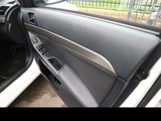 2011 Mitsubishi Lancer CJ MY11 ES White 6 Speed CVT Auto Sequential Sedan