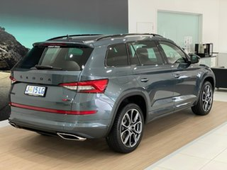 2020 Skoda Kodiaq NS MY20.5 RS DSG Grey 7 Speed Sports Automatic Dual Clutch Wagon