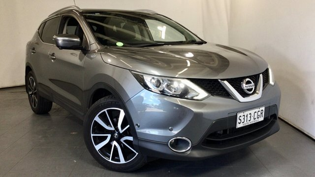Used Nissan Qashqai J11 TI Elizabeth, 2016 Nissan Qashqai J11 TI Grey 1 Speed Constant Variable Wagon