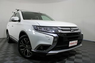 2017 Mitsubishi Outlander ZK MY17 Exceed 4WD White 6 Speed Sports Automatic Wagon.