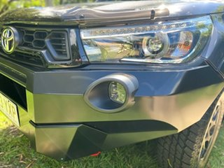 2019 Toyota Hilux GUN126R Rugged X Double Cab Magnetic Grey 6 Speed Sports Automatic Utility