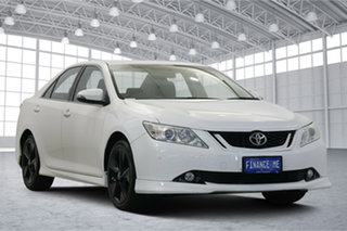 2015 Toyota Aurion GSV50R Sportivo Diamond White 6 Speed Sports Automatic Sedan.