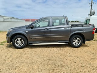2013 Ssangyong Actyon Sports Q150 MY12 SX 4x2 Grey 6 Speed Sports Automatic Utility
