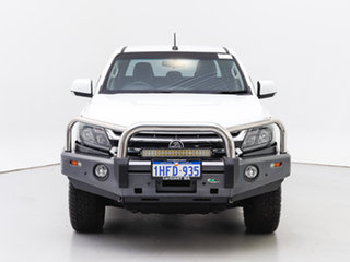 2016 Holden Colorado RG MY17 LS (4x4) White 6 Speed Manual Crew Cab Pickup.