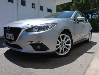 2015 Mazda 3 BM5438 SP25 SKYACTIV-Drive Silver 6 Speed Sports Automatic Hatchback.