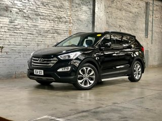 2013 Hyundai Santa Fe DM MY13 Highlander Black 6 Speed Sports Automatic Wagon.