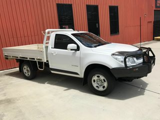 2015 Holden Colorado RG MY15 LS 4x2 White 6 Speed Manual Cab Chassis
