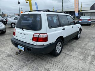 2000 Subaru Forester 79V MY00 GX AWD White 4 Speed Automatic Wagon