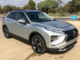 2020 Mitsubishi Eclipse Cross YB MY21 LS 2WD Sterling Silver 8 Speed Constant Variable Wagon.